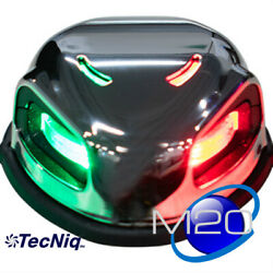 Marine Boat 12v Led Red Green Bow Navigation Light 2 Nautical Miles M20