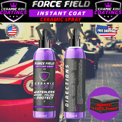Force Field Ceramic King Polish Seal Shine Protect Armor Your Vehicle