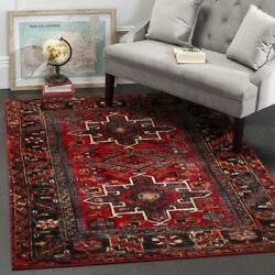 Traditional Oriental Tribal Medallion Red Area Rug Free Shipping