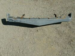 1974-75 Firebird Formula Trans Am Gm Front Bumper For Parts Or Repair Used