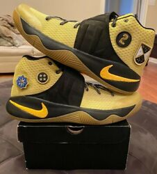 Nike Kyrie 2 All Star Game Patch 835922-307 Yellow Black Maize AS 14 Unreleased