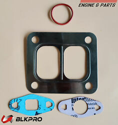 Turbo Exhaust Gasket Made In Usa Set Turbocharger For 8.3c Cummins 6c Isc Holset