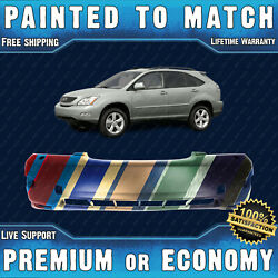 New Painted To Match Front Bumper Replacement For 2004-2009 Lexus Rx330/rx350