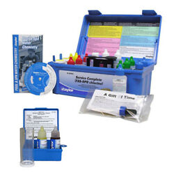 Taylor 2000 Service Complete Test And Salt Water Drop Swimming Pool Spa Test Kits