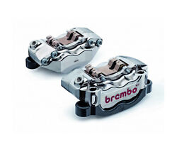 Brembo Front Radial Brake Cnc Calipers Yamaha Yzf R1 Yzf1000 And Mt01 Mt-01
