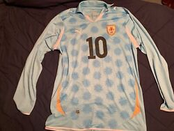 2010-11 Diego Forlan Uruguay National Team Home Soccer Jersey Menand039s Size Xl