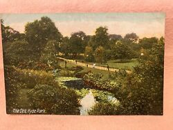 Old Postcard London The Dell Hyde Park London