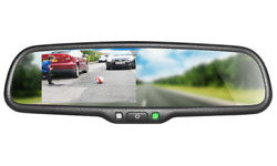 Boyo Vtm43m - Replacement Rear-view Mirror With 4.3 Tft-lcd Backup Camera Monit