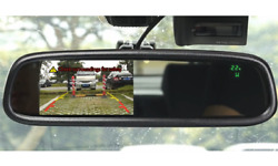Boyo Vtm43tc - Replacement Rear-view Mirror With 4.3 Tft-lcd Backup Camera Moni