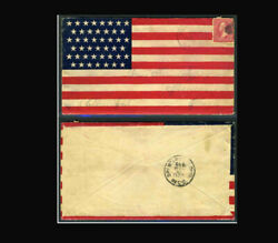 Us Stamp Used, Vf S267 Spanish-american War Patriotic Cover, Nice Condition Fla