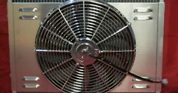 1967-1970 Ford Mustang Mercury Cougar Shroud And Fan For 24 Factory A/c Radiator