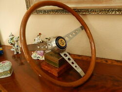 1967 Shelby Gt500 -steering Wheel Wood As Placed On 67 Shelby Gt500 Super Snake