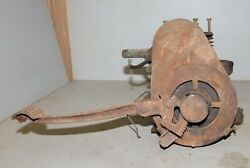 Antique Briggs And Stratton Kick Start Engine Model Y Hit And Miss Collectible Tool