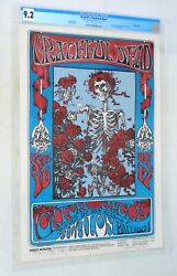 1966 Family Dog FD 26 Grateful Dead Poster Signed  Mouse & Kelley CGC 9.2 1st