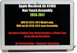 Apple A1466 Macbook Air 13in. Lcd Replacement Screen 2013 2014 2015 2016 2017