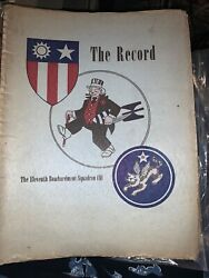 Wwii The Record The 11th Bombardment Group Flying Tigers Yangkai Book 1946 Rare