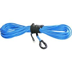 Kfi Syn25-b50 Synthetic Winch Cable Rope Blue 1/4in X 50ft 4000-5000lbs Winches