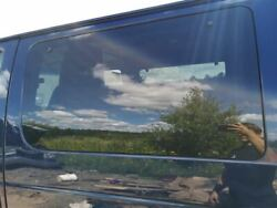 Driver Quarter Glass Front Privacy Tint Fits 98-14 Ford E150 Van 199257
