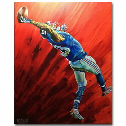 136376 Odell Beckham One Handed Catch America Football Wall Print Poster Ca