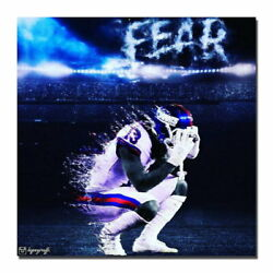 137778 Odell Beckham Jr Ny Giants Wide Receiver Decor Wall Print Poster Ca