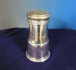 Reed And Barton Antique Early Silverplate Muffineer Sugar Shaker From Mamma Frank