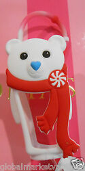 20 Bath And Body Works Pocketbac Holder White Holiday Bear For Hand Sanitizer New