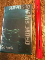 2006 Signed Stated First Ed Havoc Swims Jaded David J. Schow