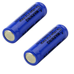 2pcs 14500 3.7v 1800mah Lithium Li-ion Rechargeable Battery Batteries From Usa