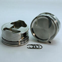 Dss Piston Set 3-4816-3700 3.700 Bore -18cc Dish 2v For Ford 46l Overbored