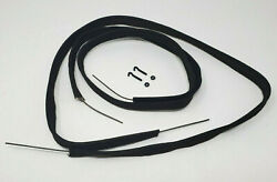 Chevrolet Chevy Car And Truck Hood Lace With Wire Insert And Clip Kit 1929-1939