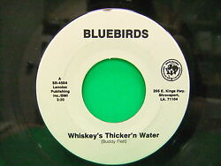 Bluebirds Whiskeys Thicker N Water Testin The Water 45 Sooto Records Sr 4504