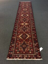 On Sale Semi Antique Vintage Hand Knotted Runner Carpet Gharajeh 2andrsquo6andrdquox12andrsquo1andrdquo3378
