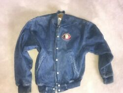 The Teller House Casino Embroidered Denim Heavy Jacket Central City Colorado