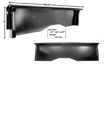 Chevy, Chevrolet Pickup Truck Shortbed Bedside Set Left And Right 1947-1953