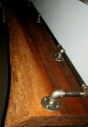 WALNUT RECLAIMED WALL PUB TABLE - THE GAME ROOM STORE - NJ - 08742 BRUNSWICK