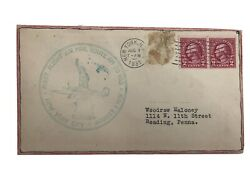 Two Rare Stamps On Envelope George Washington 2andcent