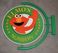 RARE ELMO 1990'S ULTIMATE SESAME STREET GENERAL STORE ITEM: ELMO'S NURSERY SIGN
