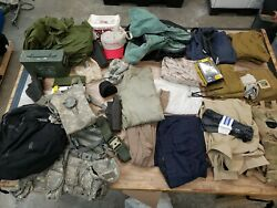 Us Military Surplus Lot Various Equipment Field Gear Store Inventory Msl5