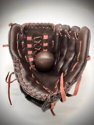Baseball Glove And Ball Leather Gift Vintage Retro Sport Collectables Memorabilia
