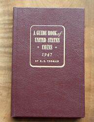 1947 Redbook A Guide Book Of Us Coins Leather Tribute Edition Signed 87 Of 500