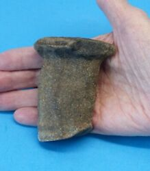 Ancient Paleo Indian Native American Stone Tool - Unique Hand Crafted Artifact