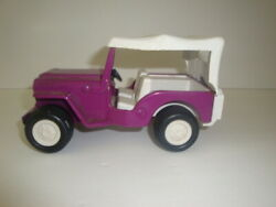 Tonka Jeep Vintage Beach Buggy Purple With White Top Some Minor Signs Of Wear