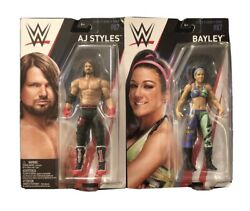 Mattel Wwe Series 87 Bayley Aj Styles Action Figure 2018 Collectable Wrestling