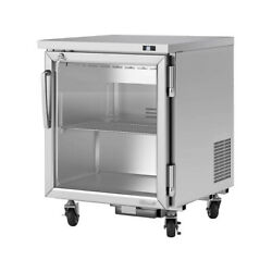 Turbo Air Pur-28-g-n 27 One Glass Door Undercounter Refrigerator, 6.8 Cu. Ft.