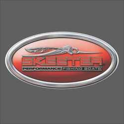 Skeeter Oval Carpet Graphic Decal Sticker For Fishing Bass Boats 700-103