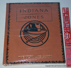 Indiana Jones Ultimate Guide James Luceno Limited To 500 Leather Bound Sealed