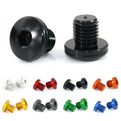 Fit For Bmw G650gs 10-20 Motorcycle Aluminum Mirror Block Off Hole Plugs Screws