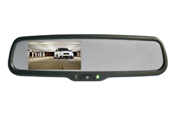 Boyo Vtm43me - Replacement Rear-view Mirror With 4.3 Tft-lcd Backup Camera Moni