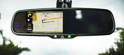 Boyo Vtm43tca - Replacement Rear-view Mirror With 4.3 Tft-lcd Backup Camera Mon