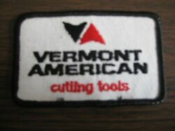 Vermont American Cutting Tools Racing Team Racing Embroidered Patch